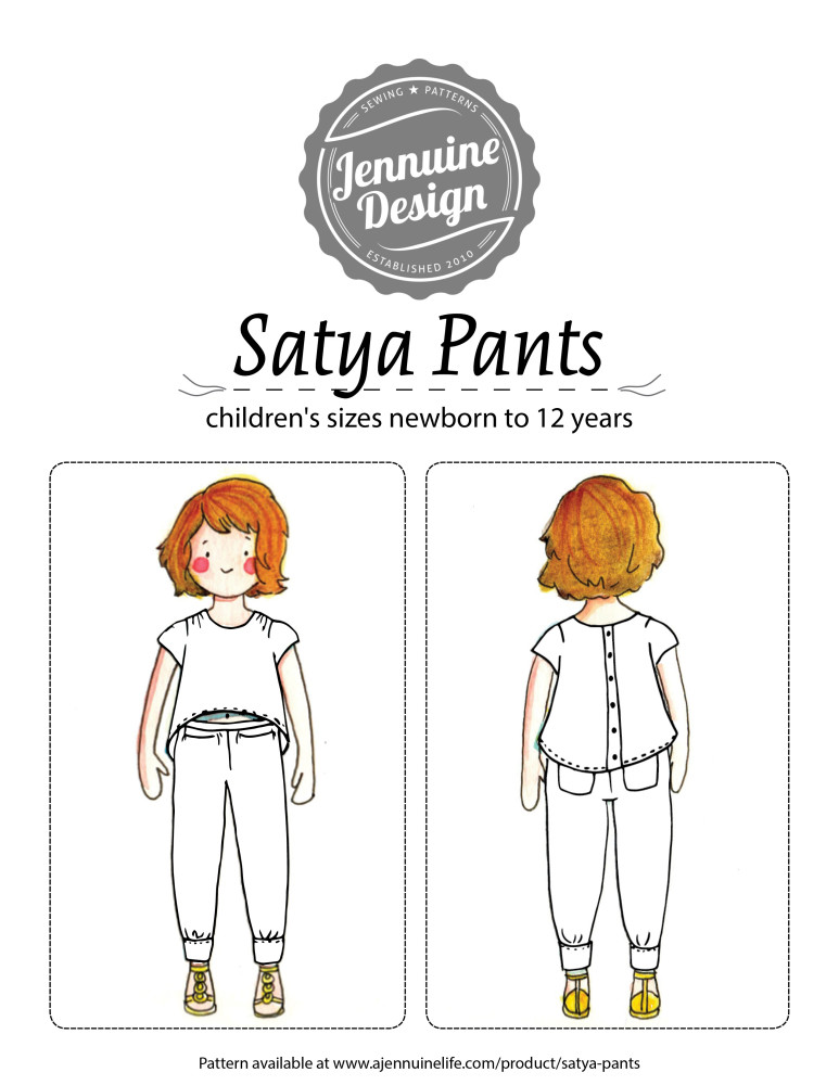 satya pants coloring page
