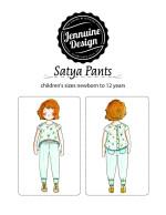 Satya Pants Jennuine Design for children sized newborn to 12 years