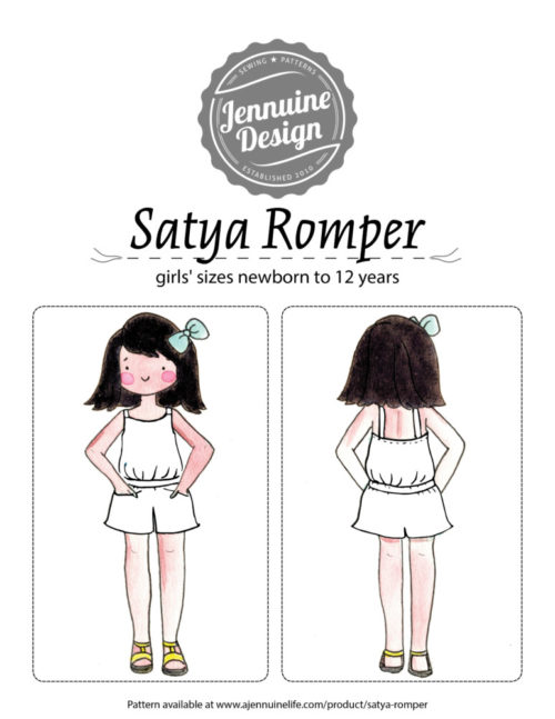 Satya Romper Coloring Page Cover