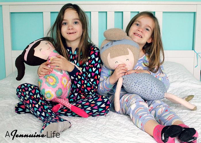 Pillow Pals Dolls by Heidi & Finn