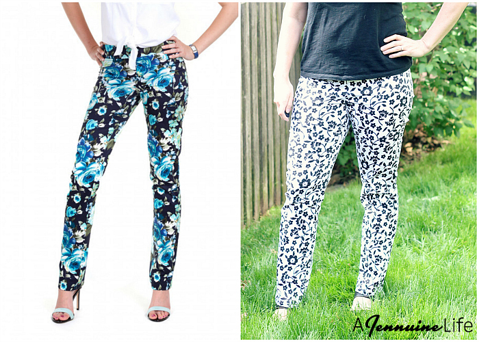 A Jennuine Life pattern review of Jalie Elenore Pull-on Jeans