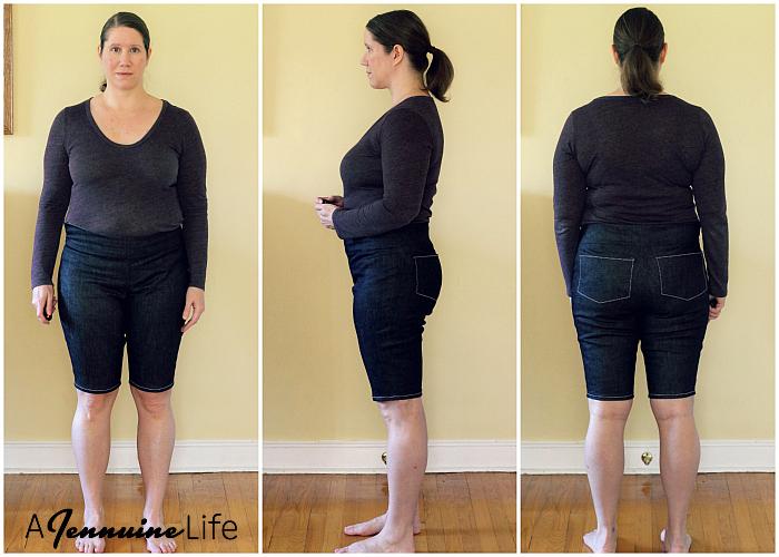 Laela Jeyne Scarlett Moto Skinnies Adjusted Muslin Collage