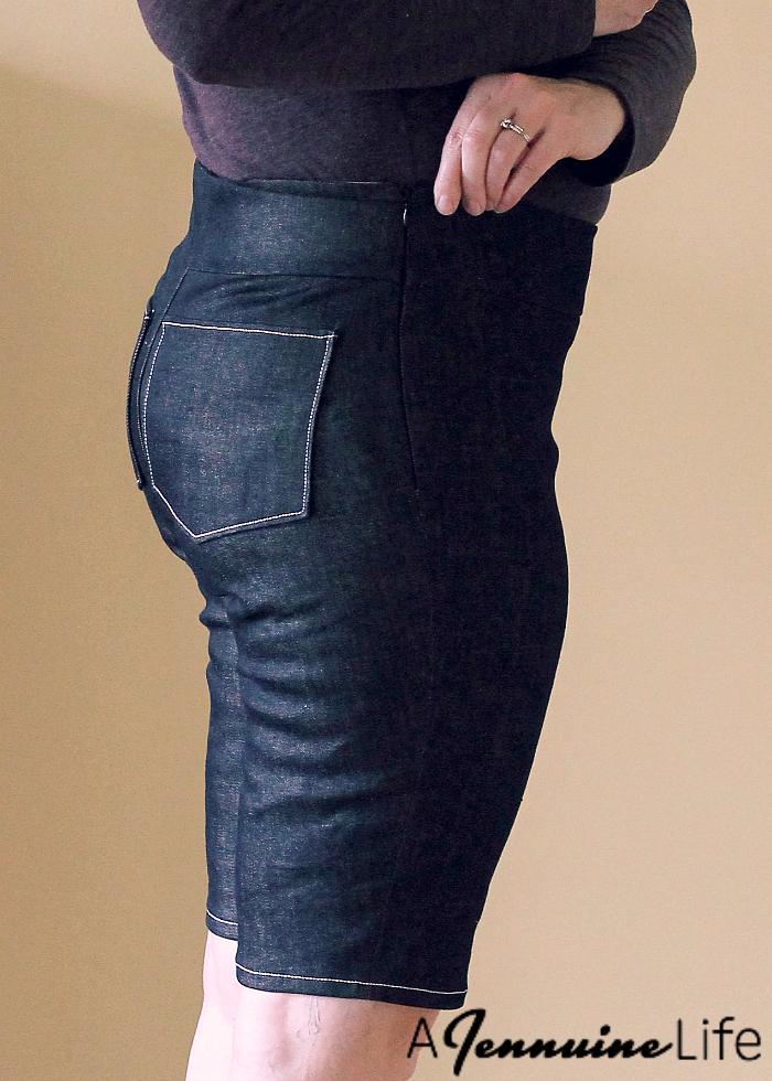 Laela Jeyne Scarlett Moto Skinnies Muslin Zip