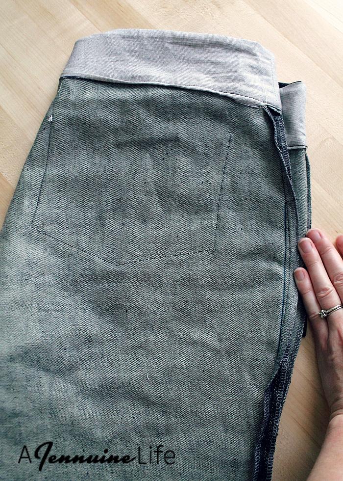 Laela Jeyne Scarlett Moto Skinnies Slimmed Hip